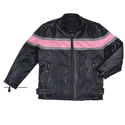 Kids Leather Jacket child coat-HMB-K03A